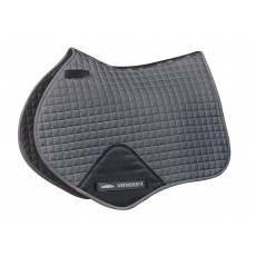Weatherbeeta Prime Jump Shaped Saddle Pad (Grey)