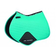 Weatherbeeta Prime Jump Shaped Saddle Pad (Turquoise)