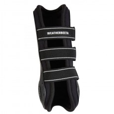 Weatherbeeta Pro Air Open Front Boots (Black)