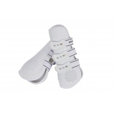 Weatherbeeta Pro Air Open Front Boots (White)
