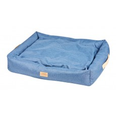 Weatherbeeta Square Denim Dog Bed (Blue Denim)