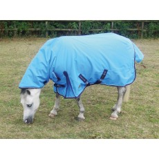 Mark Todd Mediumweight Pony Combo Turnout Rug (Ocean Blue/Navy)