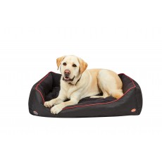 Weatherbeeta Therapy-Tec Dog Bed (Black/Red)