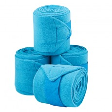Saxon Coordinate Fleece Bandages 4 Pack (Blue)
