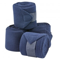 Saxon Coordinate Fleece Bandages 4 Pack (Navy)
