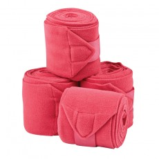 Saxon Coordinate Fleece Bandages 4 Pack (Pink)