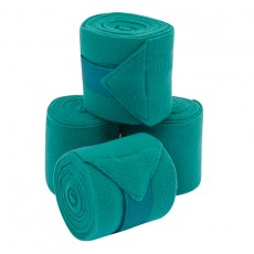 Saxon Coordinate Fleece Bandages 4 Pack (Teal)