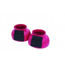Saxon Ribbed Touch Tape Bell Boots (Pink)
