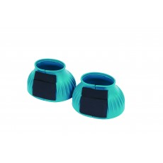Saxon Ribbed Touch Tape Bell Boots (Turquoise)