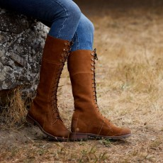 Ariat Women's Ketley Waterproof Boot (Chestnut)