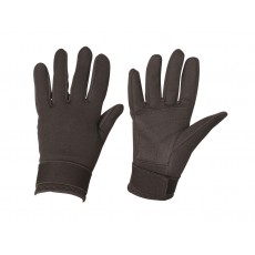 Dublin Adult's Neoprene Riding Gloves (Black)