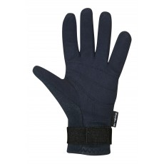 Dublin Adult's Neoprene Riding Gloves (Navy)