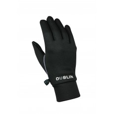 Dublin Adult's Thermal Riding Gloves (Black)
