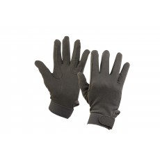 Dublin Adult's Track Riding Gloves (Grey)