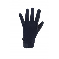 Dublin Adult's Track Riding Gloves (Navy)