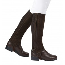Dublin Adults Suede Half Chaps II (Brown)