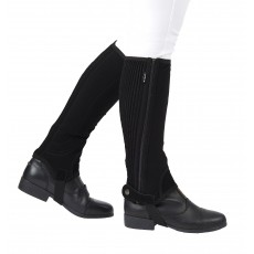 Dublin Child's Easy-Care Half Chaps II (Black)
