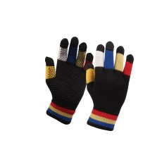 Dublin Child's Magic Pimple Grip Riding Gloves (Black Multi)