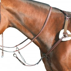 Mark Todd Deluxe 5-Point Breastplate (Havana)