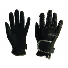 Dublin Everyday Mighty Grip Riding Gloves (Black)