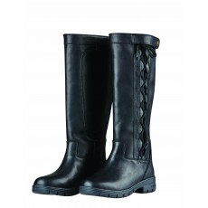 Dublin Ladies Pinnacle Grain Boots II (Black)