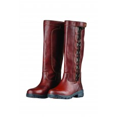 Dublin Ladies Pinnacle Grain Boots II (Red Brown)