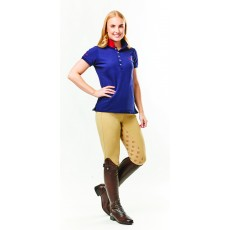 Dublin Ladies Lily Cap Sleeve Polo (True Navy)