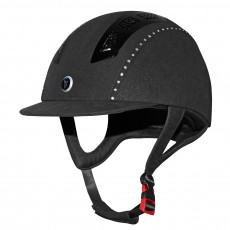 Gatehouse (Ex Display) Chelsea Air Flow Pro Riding Hat Crystal (Suedette Black)