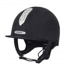 Champion (Ex Display) Junior X-Air Dazzle Plus Hat (Black) (Size 53cm)