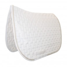 Mark Todd Deluxe Dressage Saddlepad (White)