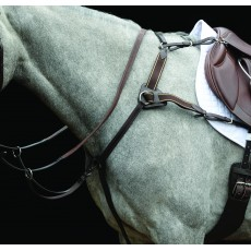 Collegiate 5-Point Breastplate IV (Brown)
