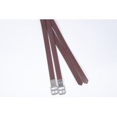 Collegiate Synthetic Stirrup Straps (Brown)