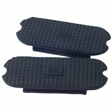 Korsteel Knife Edge Stirrup Treads (Black)