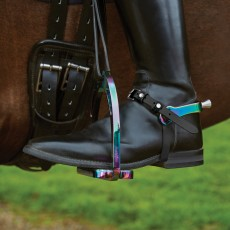 Korsteel Ladies Aluminium Interchangeable Spurs (Rainbow)