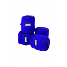 Roma Acrylic Stable Bandages 4 Pack (Purple)