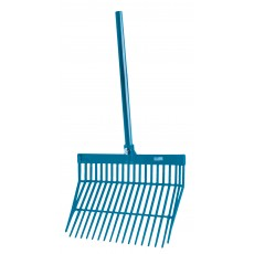 Roma Brights Revolutionary Stable Rake With Handle (Aqua)