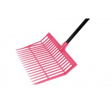Roma Brights Revolutionary Stable Rake With Handle (Hot Pink)