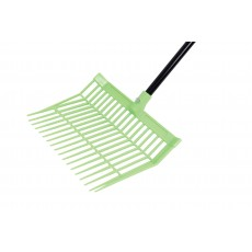 Roma Brights Revolutionary Stable Rake With Handle (Lime)