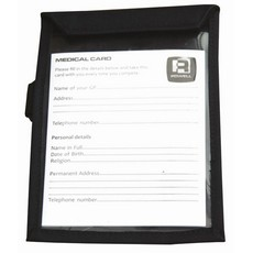 Rodney Powell Medical Card Holder (Black)