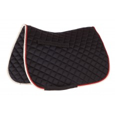 Roma Grand Prix All Purpose Saddle Pad (Navy/Red/White)