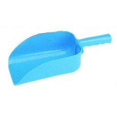 Roma Plastic Feed Scoop (Blue)