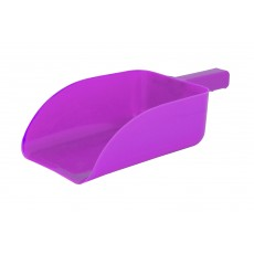 Roma Plastic Feed Scoop (Pink)