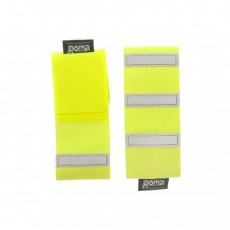 Roma Reflective Bands 2 Pack (Yellow)