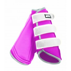 Roma Reflective Brushing Boots (Pink)