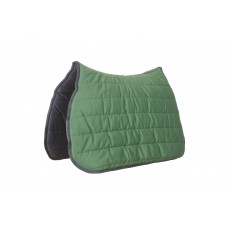 Roma Reversible Softie All Purpose Saddle Pad (Navy/Hunter Green)