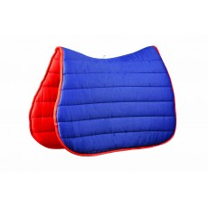 Roma Reversible Softie All Purpose Saddle Pad (Navy/Red)