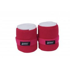 Roma Support Bandages 2 Pack (Fuchsia)