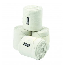 Roma Thick Polo Bandages 4 Pack (Vanilla)