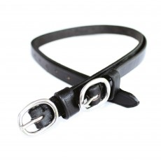 JHL Leather Spur Straps (Black)