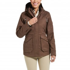 Ariat Women's Sterling Insulated H2O Parka (Banyan Bark)